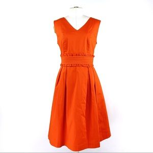 ALEX MARIE | 8 | Orange Sleeveless Dress